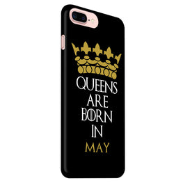 Queens May iPhone 7 Plus Mobile Cover Case
