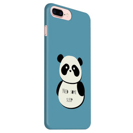 Sleepy Panda iPhone 7 Plus Mobile Cover Case