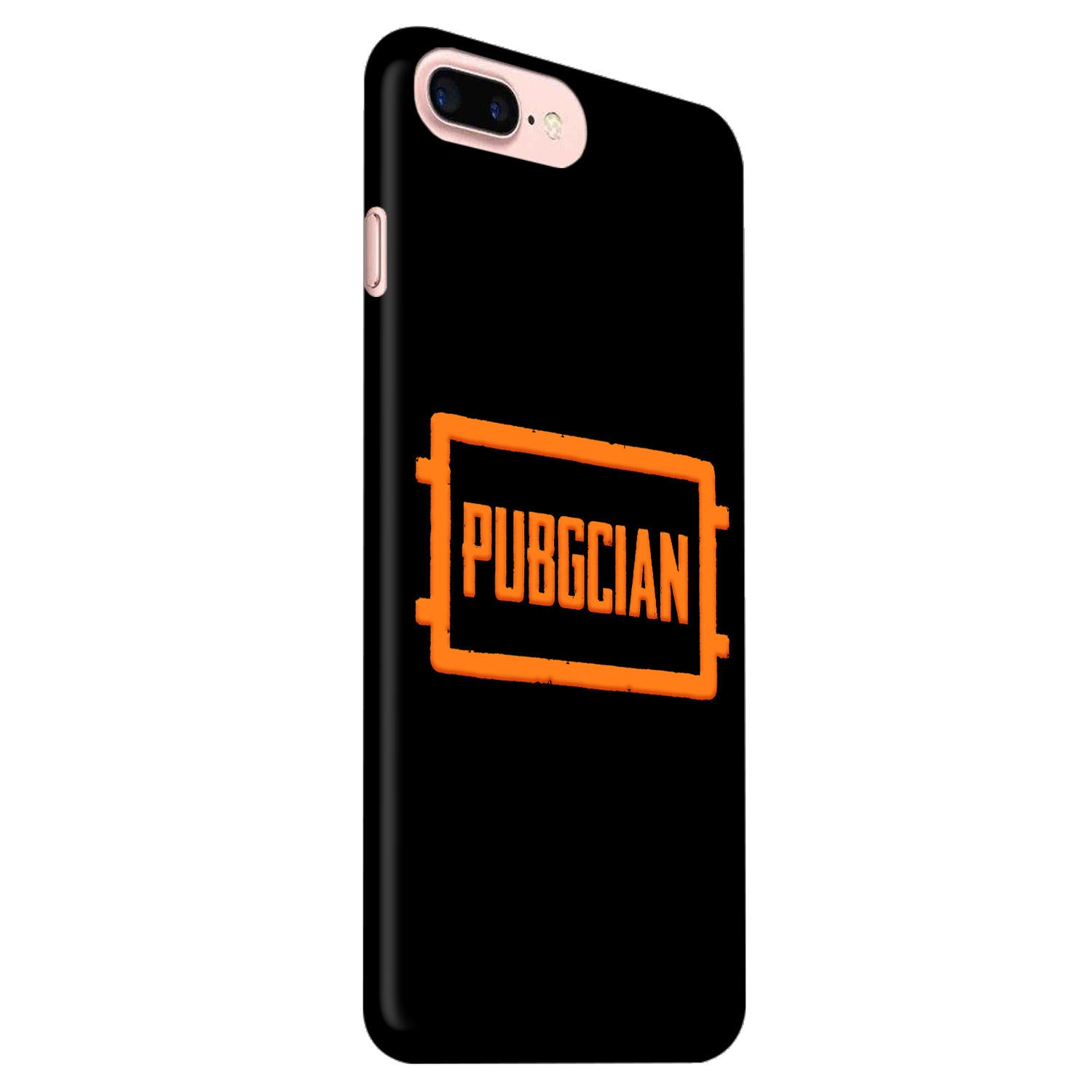 Pubgcian For Game Lovers iPhone 8 Plus Mobile Cover Case - MADANYU