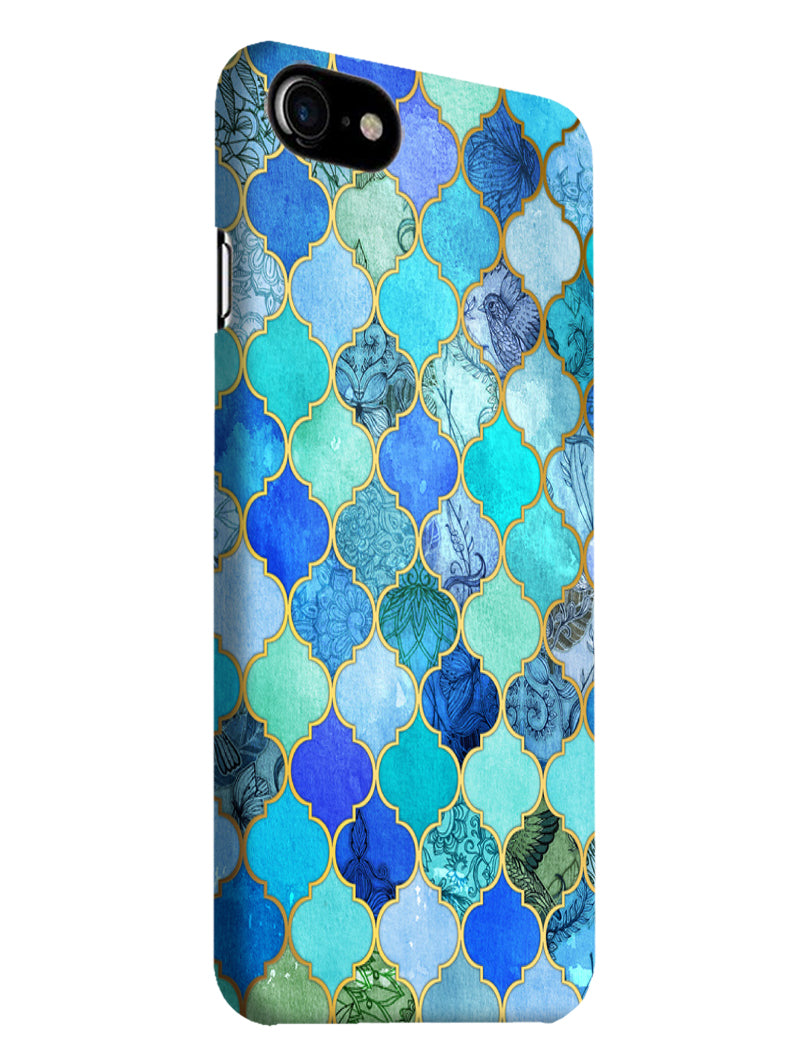 Morroccan Pattern iPhone 7 Mobile Cover Case