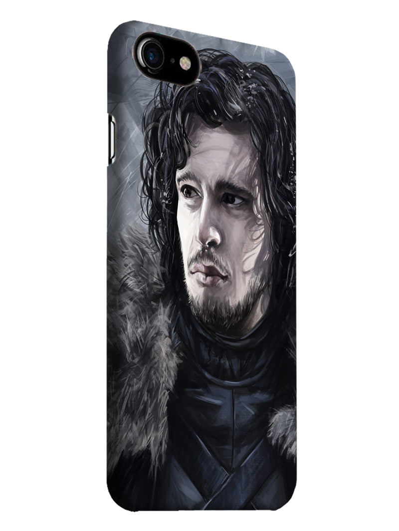 Jon Snow iPhone 7 Mobile Cover Case - MADANYU