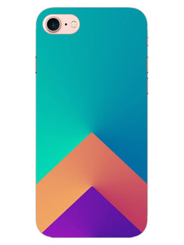 Triangular Shapes iPhone 7 Mobile Cover Case