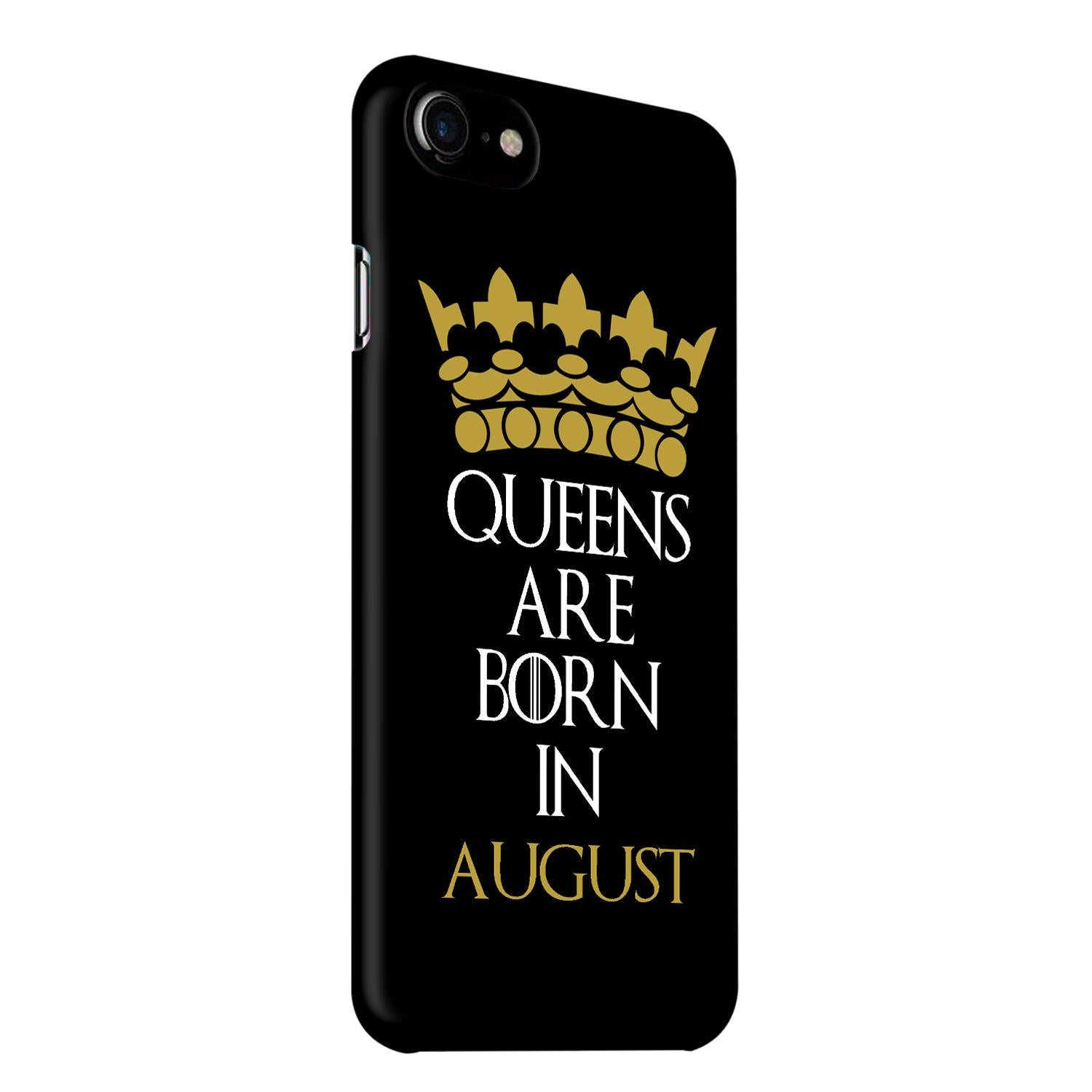 Queens August iPhone 7 Mobile Cover Case - MADANYU