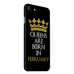 Queens February iPhone 7 Mobile Cover Case