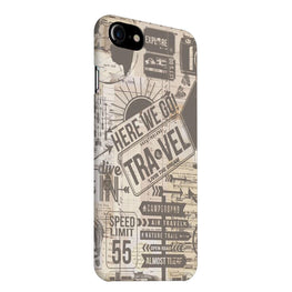 Wanderlust Graffiti iPhone 7 Mobile Cover Case
