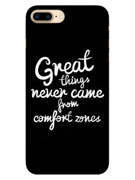 Comfort Zone Gyaan iPhone 8 Plus Mobile Cover Case