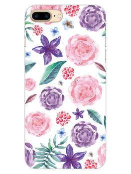 Floral Pattern iPhone 8 Plus Mobile Cover Case