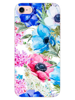 Hand Painted Floral iPhone 8 Mobile Cover Case