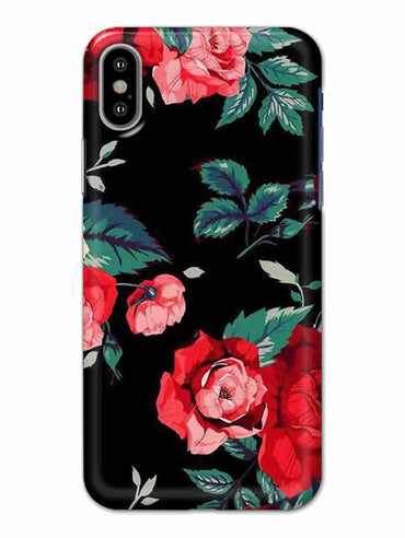 Mesmerizing Roses iPhone X Mobile Cover Case - MADANYU