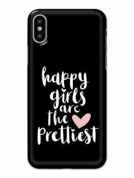 Happy Girls iPhone X Mobile Cover Case - MADANYU