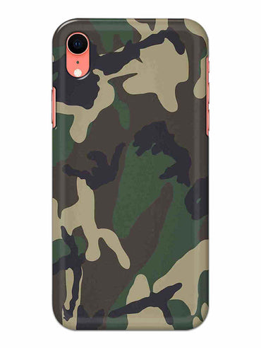 Camouflage iPhone XR Mobile Cover Case - MADANYU