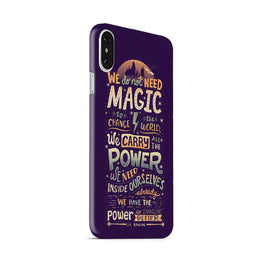 Harry Potter Quote iPhone X Mobile Cover Case