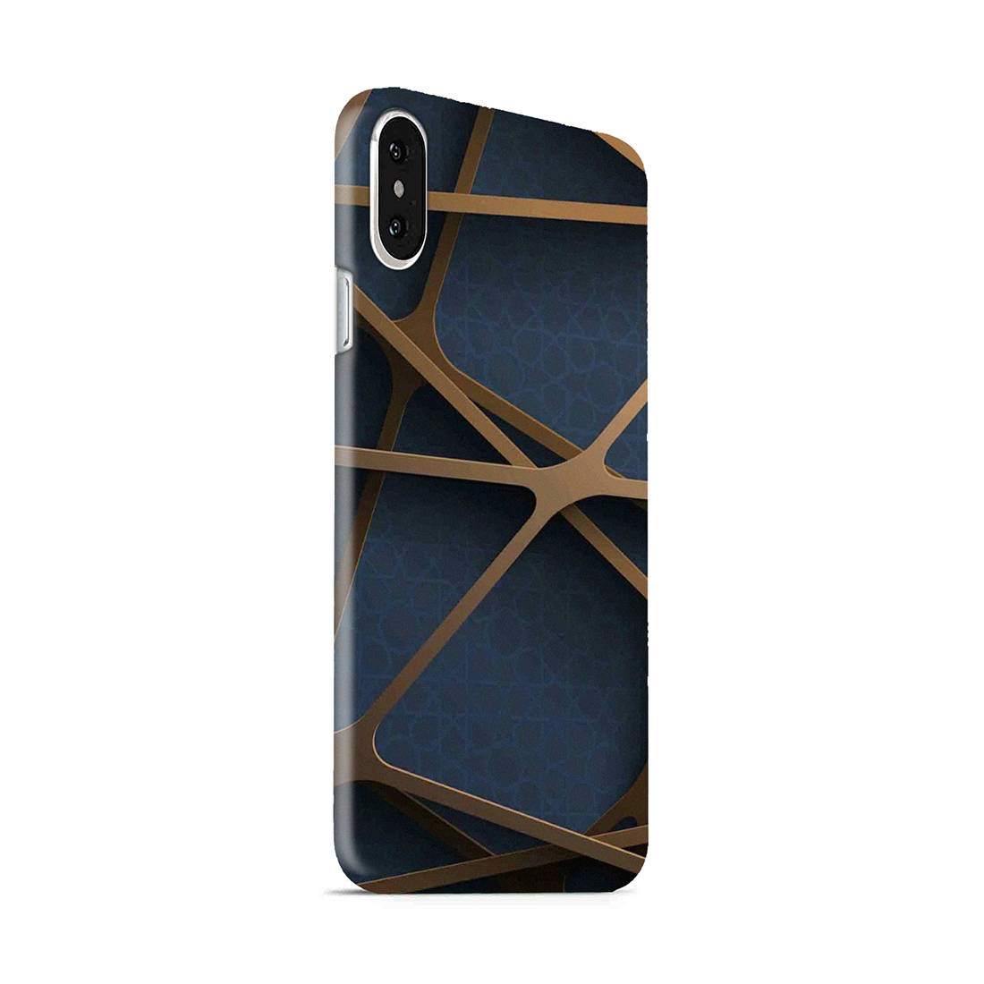 Random Geometry iPhone X Mobile Cover Case - MADANYU