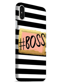 The Boss iPhone X Mobile Cover Case