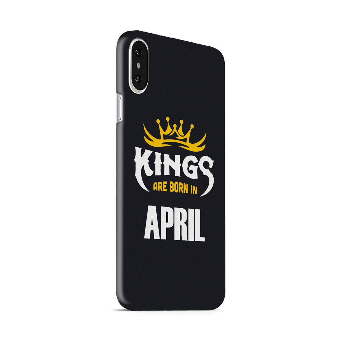 Kings April - Narcissist iPhone X Mobile Cover Case - MADANYU