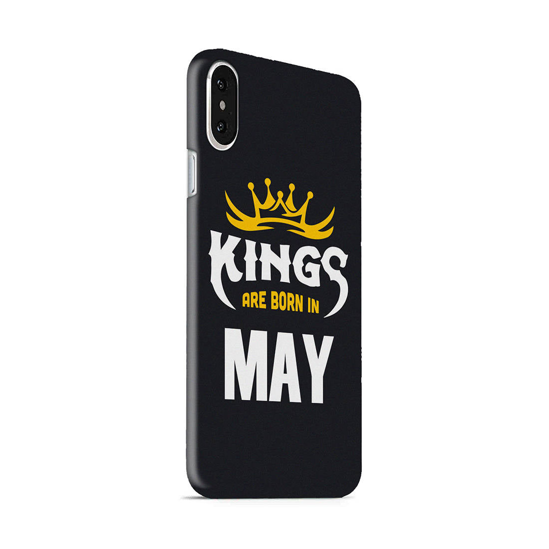 Kings May - Narcissist iPhone X Mobile Cover Case - MADANYU