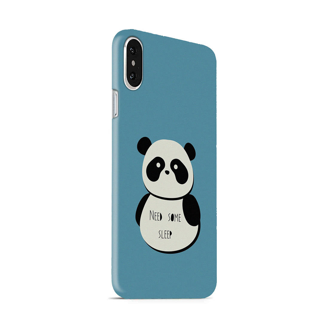 Sleepy Panda iPhone X Mobile Cover Case - MADANYU