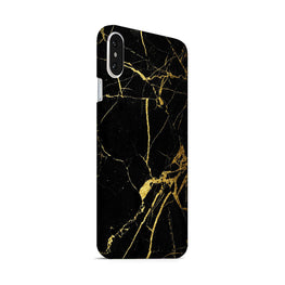 Classy Black Marble iPhone X Mobile Cover Case