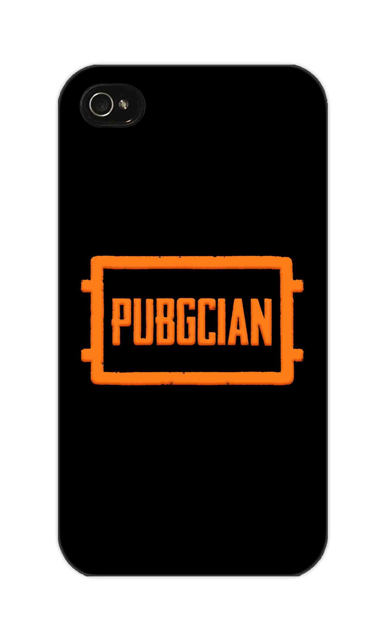 Pubgcian For Game Lovers iPhone 4 Mobile Cover Case - MADANYU
