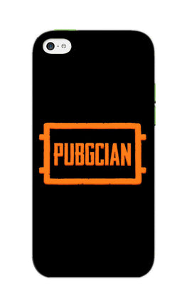 Pubgcian For Game Lovers iPhone 5S Mobile Cover Case
