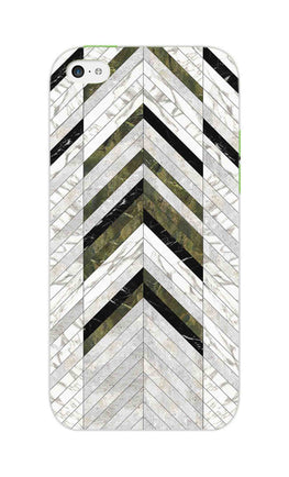 Marble Strips Line Pattern Geometric Art iPhone 5S Mobile Cover Case