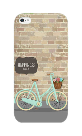 Enjoy The Ride With Bycycle iPhone 5S Mobile Cover Case