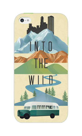 Into The Wild For Travel Lovers iPhone 5S Mobile Cover Case