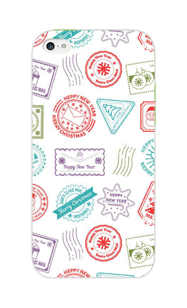 Stampes Pattern Everywhere White  iPhone 5S Mobile Cover Case