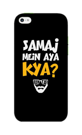 Samaj Mein Aya Kya Emiway Bantai Song  iPhone 5S Mobile Cover Case