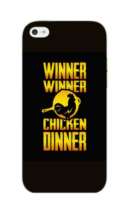 Chicken Dinner Pan For Winner Typography iPhone 5S Mobile Cover Case
