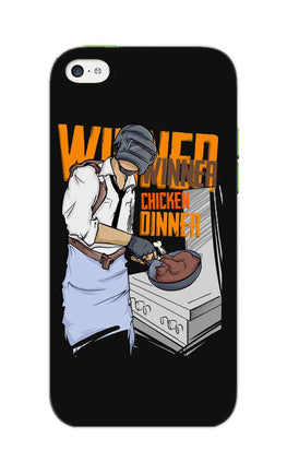 Man Making Chicken Dinner For Game Lovers iPhone 5S Mobile Cover Case