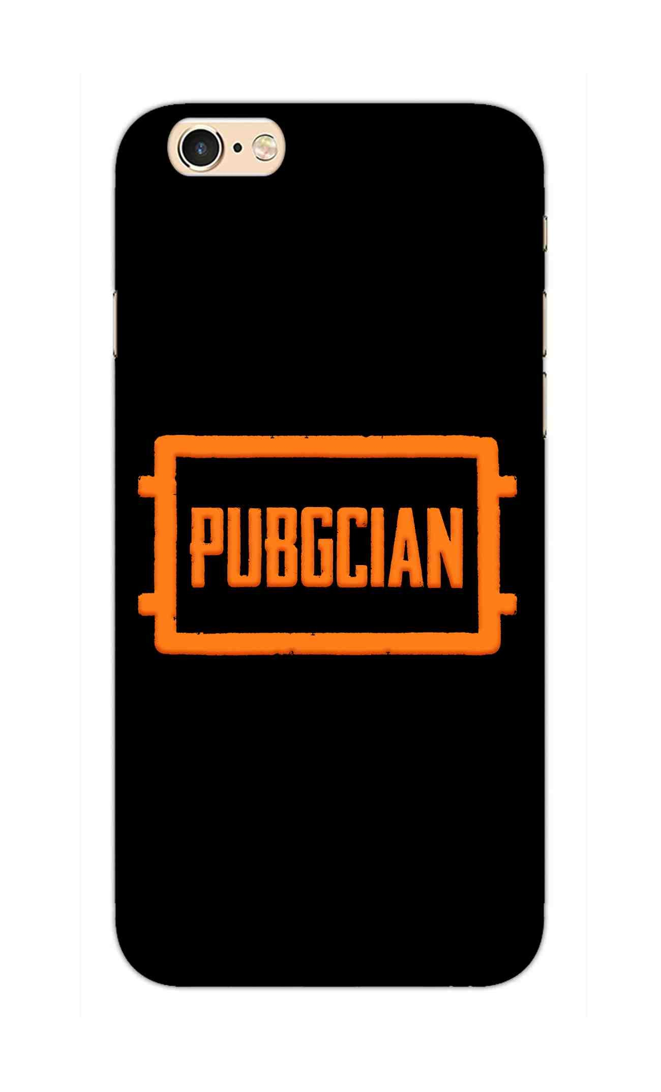 Pubgcian For Game Lovers iPhone 6S Mobile Cover Case - MADANYU