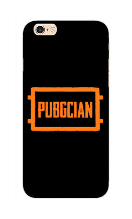 Pubgcian For Game Lovers iPhone 6S Mobile Cover Case