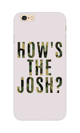 Hows The Josh Typography iPhone 6S Mobile Cover Case