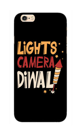 Lights Camera Diwali Enjoy Festival Of Light iPhone 6S Mobile Cover Case