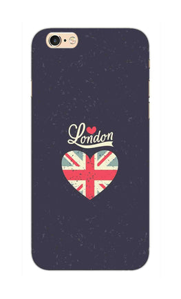 I Love London Typography Art For Artist iPhone 6S Plus Mobile Cover Case