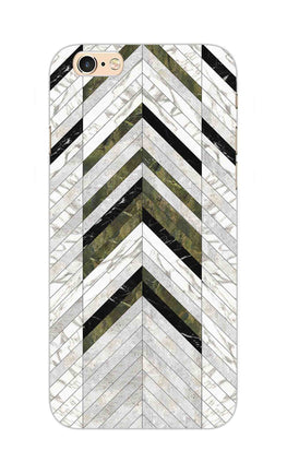 Marble Strips Line Pattern Geometric Art iPhone 6S Plus Mobile Cover Case