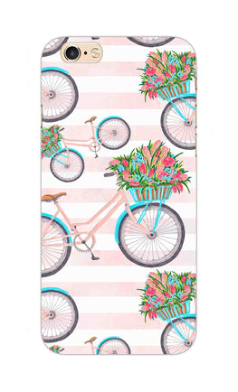 Bicycles Everywhere So Girly iPhone 6S Plus Mobile Cover Case