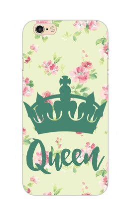 Floral Queen Pattern So Girly iPhone 6S Plus Mobile Cover Case