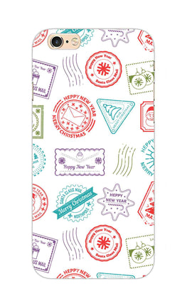 Stampes Pattern Everywhere White  iPhone 6S Plus Mobile Cover Case