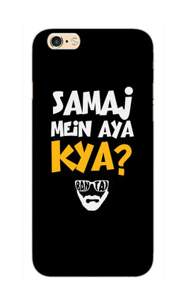 Samaj Mein Aya Kya Emiway Bantai Song  iPhone 6S Plus Mobile Cover Case