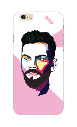 Virat Koli Art For Kohli Cricket Lovers iPhone 6S Plus Mobile Cover Case