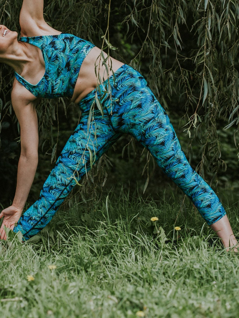 ARNASA Leggings 7/8 - Aqua Fern
