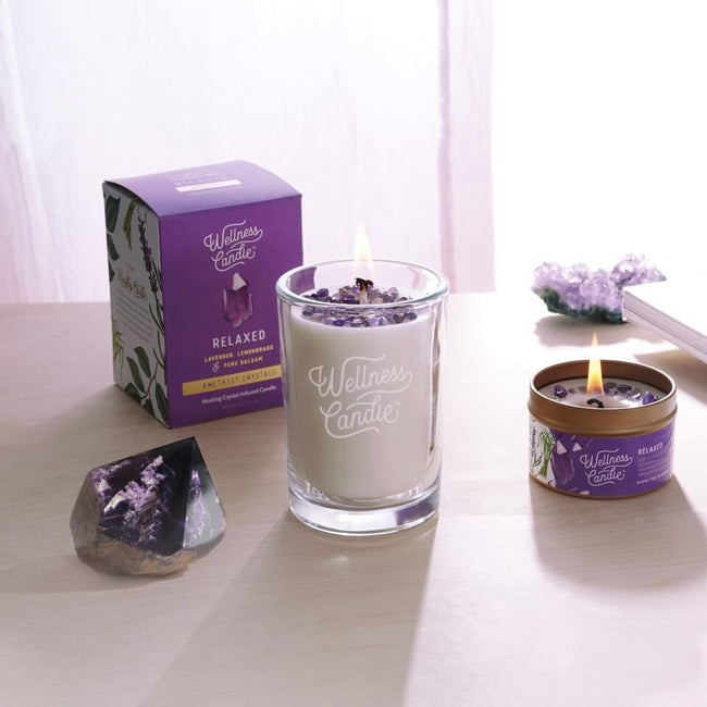 Relaxed – Amethyst Gift Set