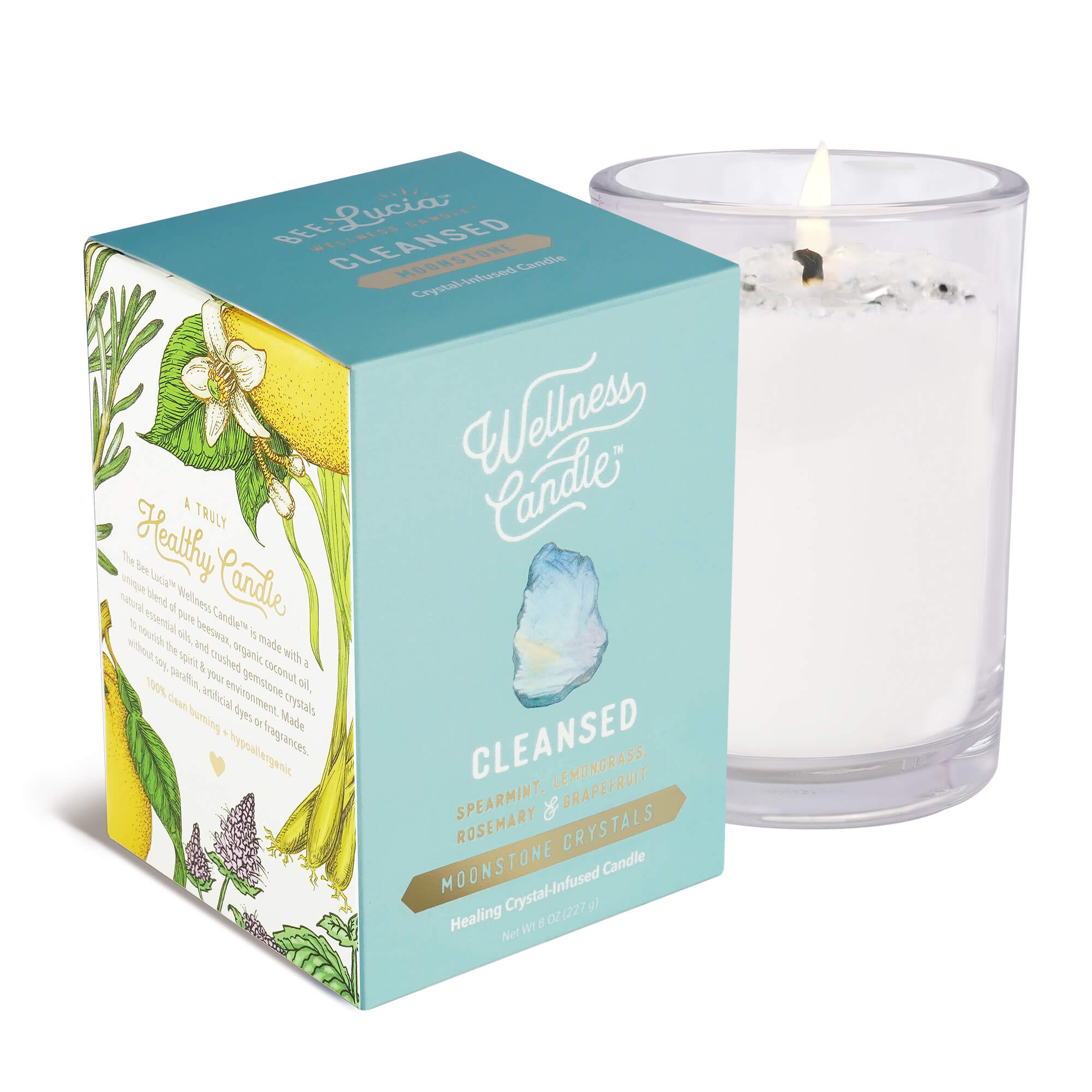 Cleansed Wellness Candle® – Bee Lucia Wellness Co