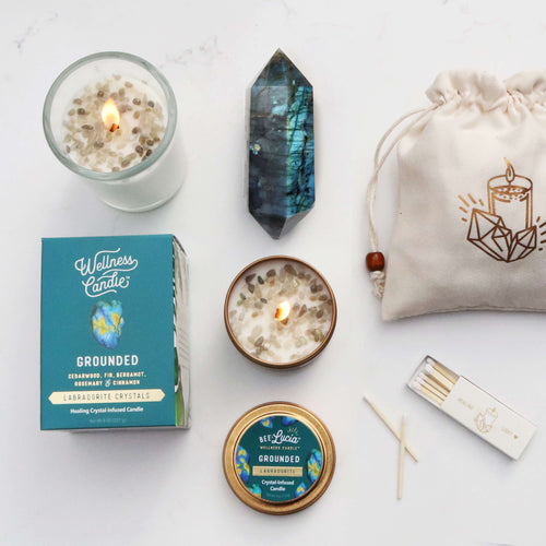 Grounded – Labradorite Gift Set