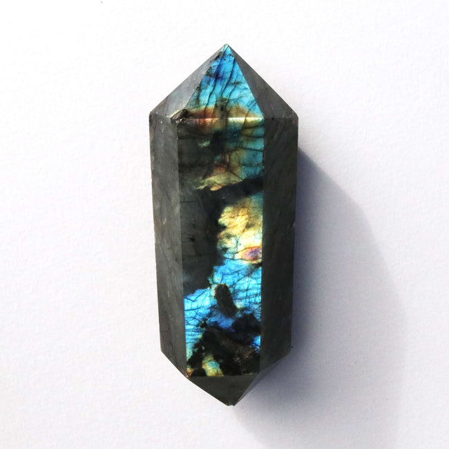 Extra Large Double Terminated Labradorite Point