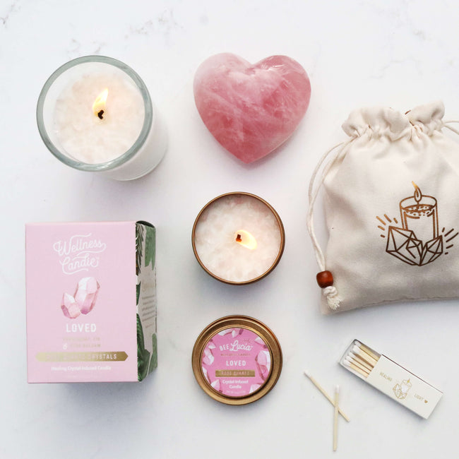 Loved – Rose Quartz Gift Set
