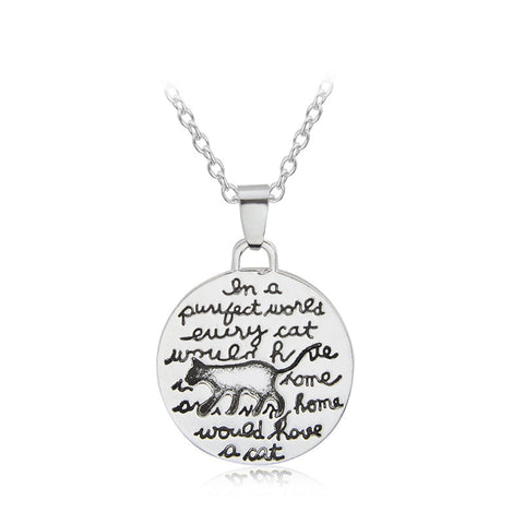 In a Perfect World Necklace