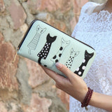 5 Cute Cats Wallet